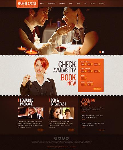 Hotel Reservation Website Design