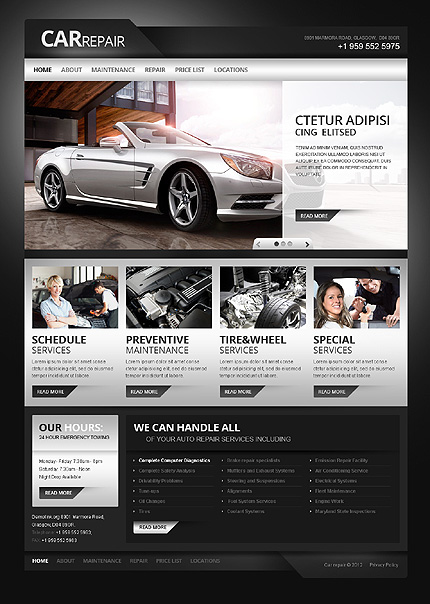 Automotive Webdesign Scottsdale Arizona